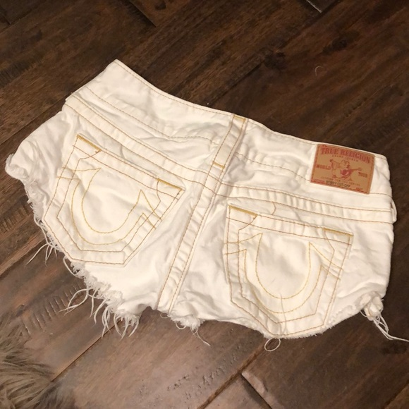 True Religion Pants - — SOLD — True Religion jean shorts (26)